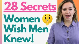 28 Female Psychology Secrets Women WISH More Men Knew (Shocking Facts About Women)