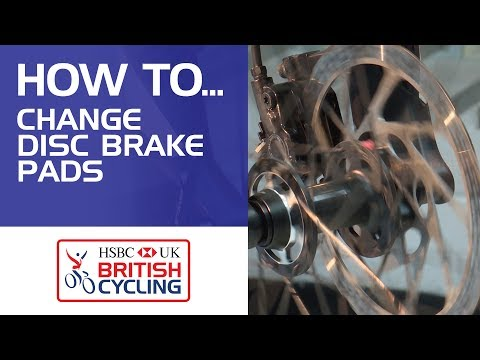 How to change your disc brake pads on your bike