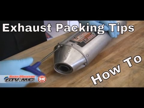 How To Repack A Motorcycle/ATV Silencer | Exhaust Packing