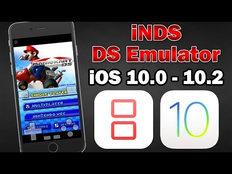 How to Install iNDS Nintendo DS Emulator on iOS 10.0 - 10.2 (No Jailbreak) iPhone, iPod Touch & iPad