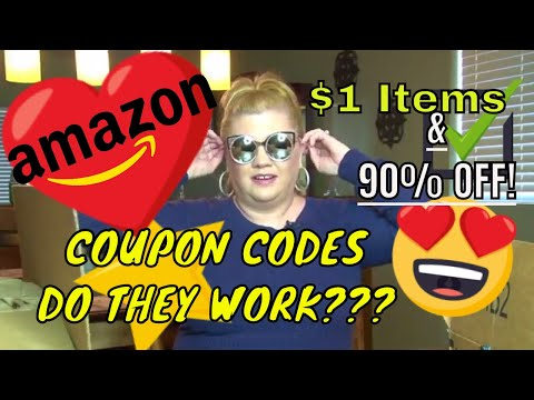 💙Amazon Coupon Codes-DO THEY WORK✔$1- 90% off-Not Just For YouTubers✔Over 40 Fashion ✔Lori Brainard