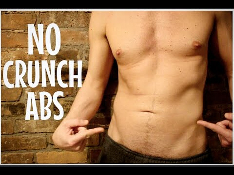 HOW TO GET ABS WITHOUT CRUNCHES | Slim Your Stomach Fast | Cheap Tip #211