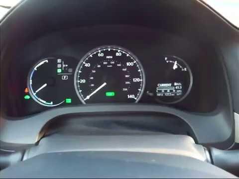 2011 Lexus CT200h hybrid hill start video.  Hill-start Assist Control.  Really great feature