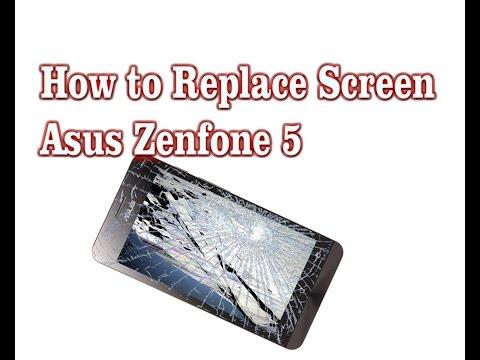 How To Replace Broken Display of Asus Zenfone 5 very easy way