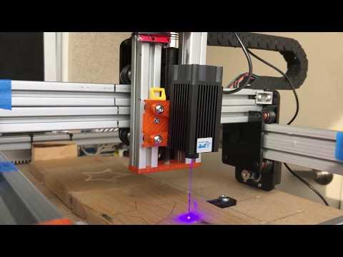 DIY Modular CNC Machine - Laser Cut Test 2