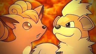 Vulpix vs Growlithe. Epic Rap Battles of Pokémon #2.
