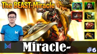 Miracle - Beastmaster Offlane | The BEAST-Miracle | Dota 2 Pro MMR Gameplay #6