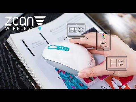 ‧ Zcan:無線滑鼠與掃描器的混血神器