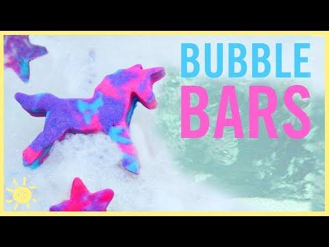 DIY | Unicorn Bubble Bars (Solid Bubble Bath)