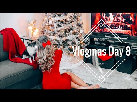 Vlogmas Day 8 | AND THE GIVEAWAY WINNER IS..... | Ashley Bloomfield