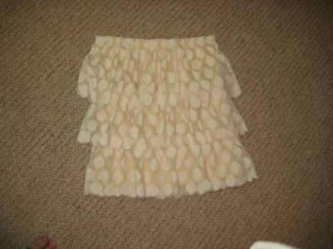 How to make a ruffle skirt