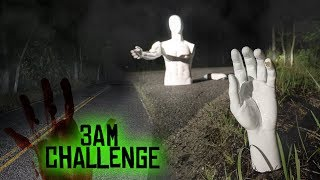 ONE MAN HIDE AND SEEK ON CLINTON ROAD // DO NOT PLAY WITH A MANNEQUIN AT 3AM!