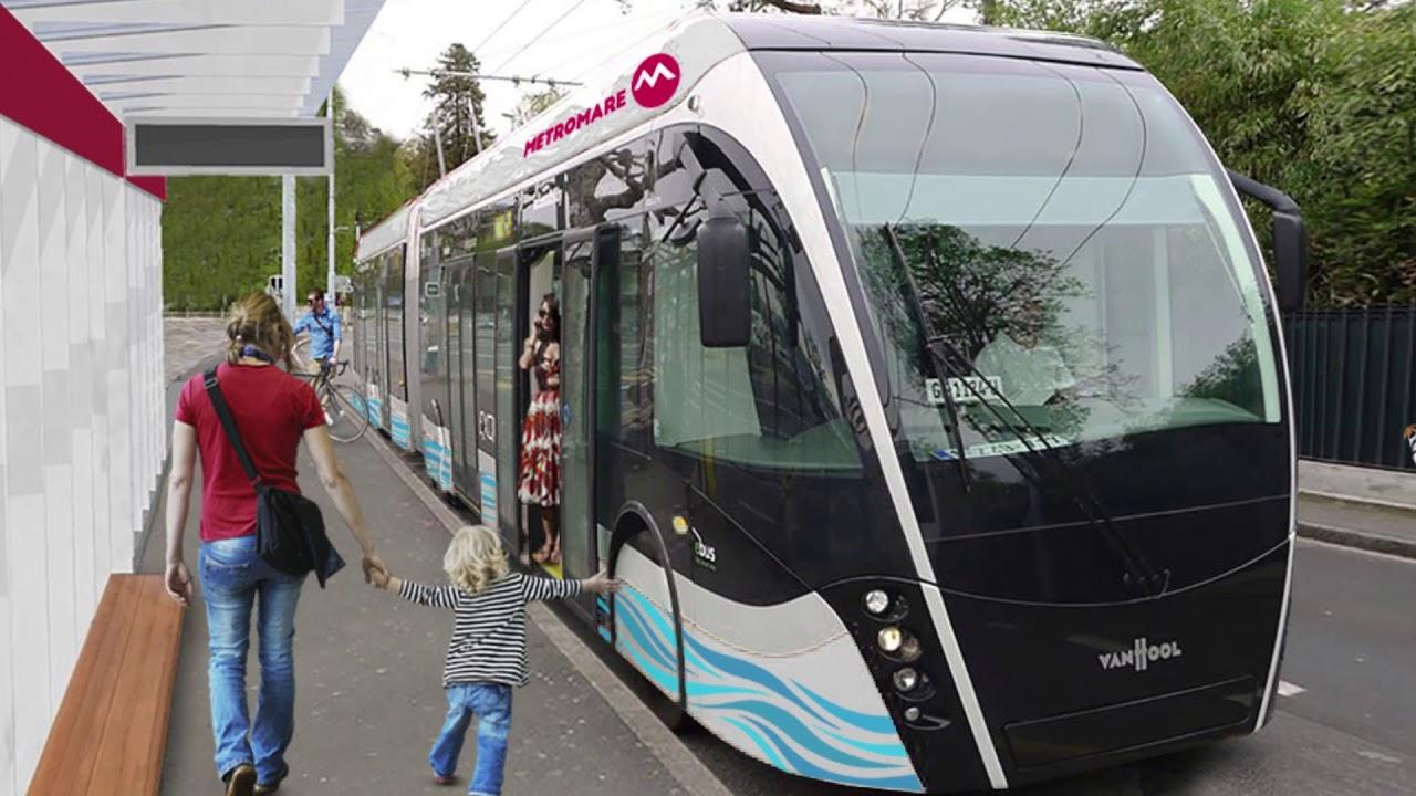 RIMINI: Metromare, ritardi nella consegna dei mezzi elettrici | VIDEO