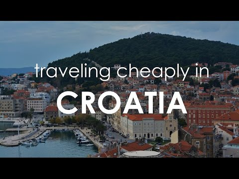 Traveling Cheaply in Croatia