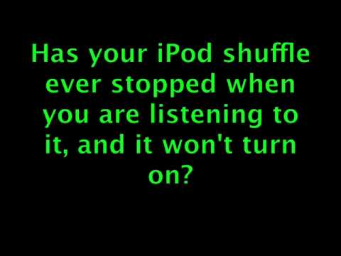 When Your iPod Shuffle Won't Turn On