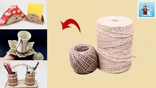 Download 6 Awesome Ideas from Jute Art and Craft Handcraft Video