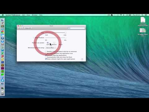Change Dock Size on Apple Mac OS X [HD][How To][Guide] 2017
