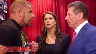 Raw - Triple H can