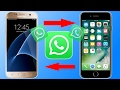 How to transfer your whatsapp conversations from Android to iPhone | 2 EASY METHODS