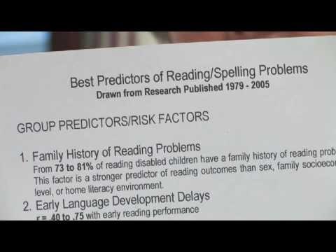 Dyslexia : Diagnosing Dyslexia