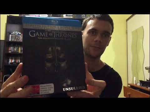 Game Of Thrones: Season 7 Blu-Ray (5 Disc Limited Australian Edition) Unboxing