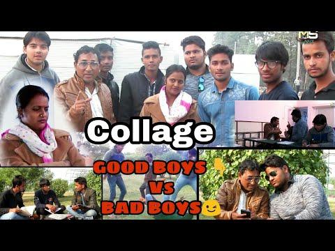 College time__Good Boys /Vs/ Bad Boys ||Video By || Mukesh Sain ||  Full HD Mp4