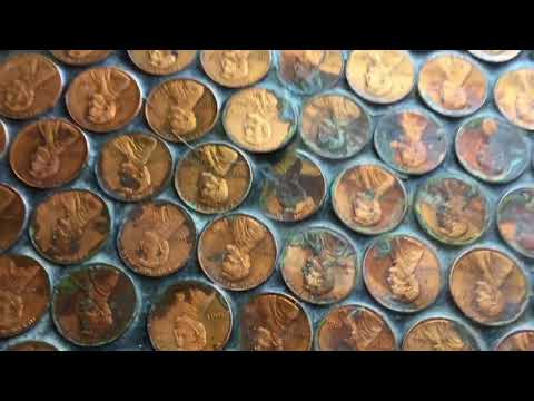 What a penny floor looks like 6 years later