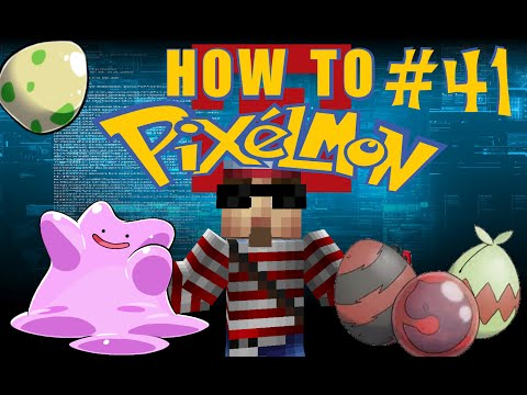 Pixelmon Breeding : IV Breeding! (How to Pixelmon 3.3.4) #41