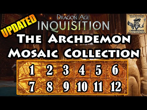 Dragon Age Inquisition - Archdemon - Mosaic Piece Locations - 4K Ultra HD