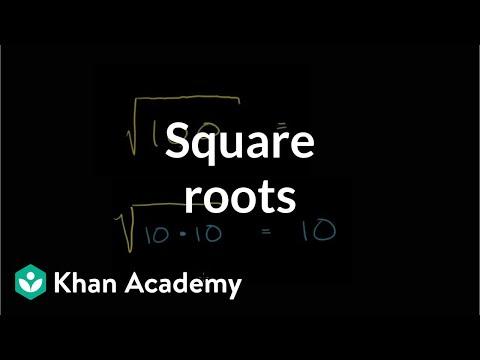 Understanding square roots   Pre-Algebra   Khan Academy