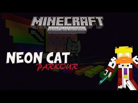 Minecraft Xbox 360 | Neon Cat Parkour!