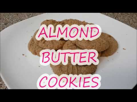 KETO RECIPE   ALMOND BUTTER COOKIES