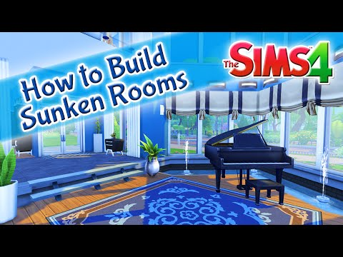 The Sims 4: How To Build A Sunken Room