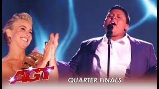 Download Luke Islam: Julianne's Golden Buzzer SLAYS At Live show | America's Got Talent 2019 Video