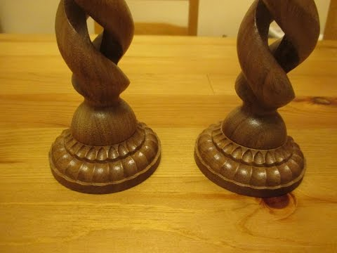 Hollow Spiral Candle Holder, Part 2