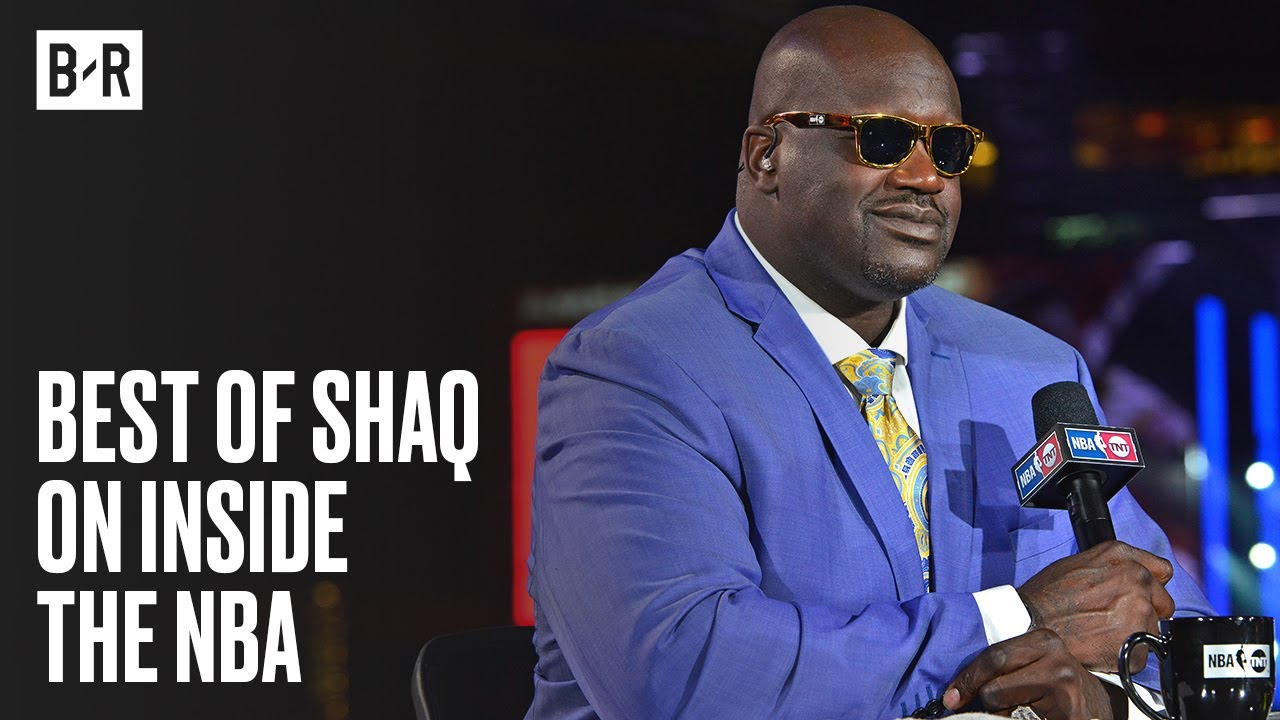 Shaq Is Straight Comedy   Best Moments on Inside The NBA