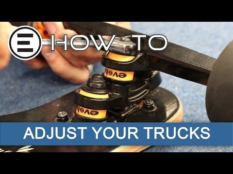 How to adjust Your Evolve Skateboards Super carve Truck    Evolve Skateboards