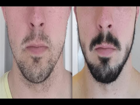 how to grow a beard and mustache fast