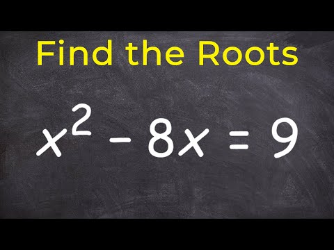 How to find the roots of an quadratic equation - Free Math Help