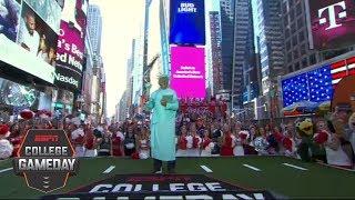 Lee Corso declares New York City