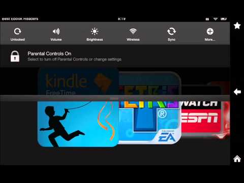 Quick Tip: How to Exit Kindle Freetime
