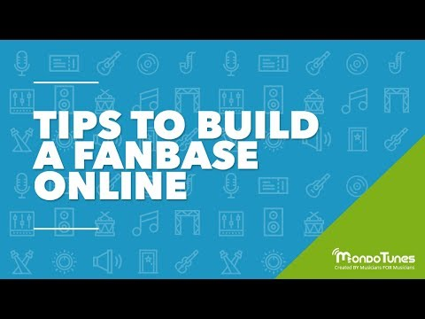 Tips to Build a Fanbase Online