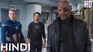 Download Avengers and Nick Fury Argument in Hindi   Tony Stark, Thor, Banner, Captain America Lab Scene Video