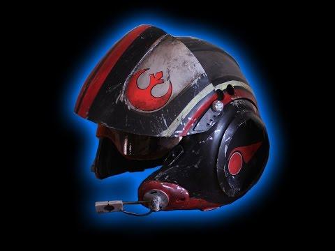 Episode 7 The Force Awakens X-Wing Pilot Helmet  Part 1 of 2