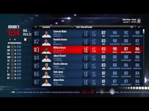 Madden NFL 17:  Two-Player FANTASY DRAFT