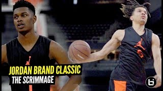Cole Anthony & Rocket Watts TEAM UP at Jordan Brand Classic Scrimmage!