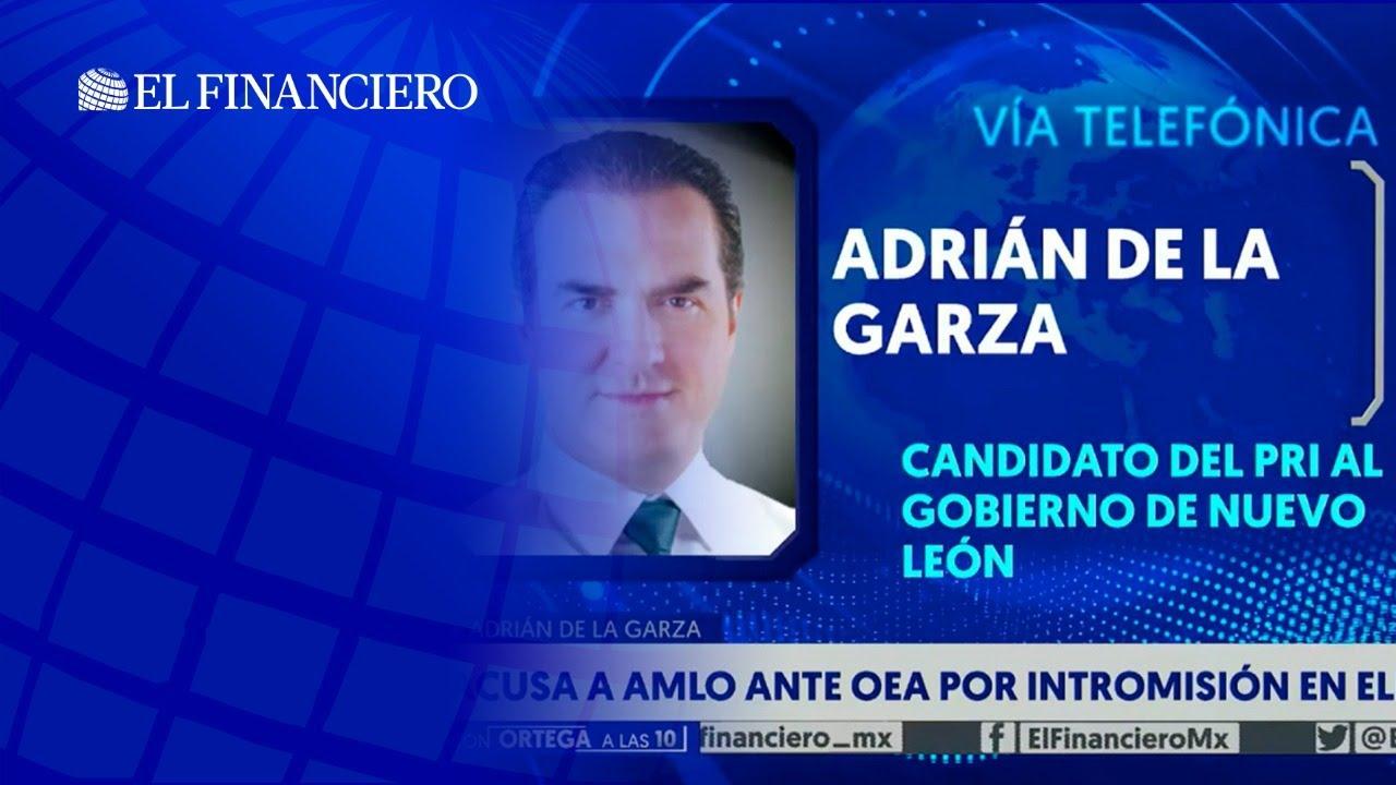 ¿Por qué Adrián de la Garza denunció a AMLO ante la OEA?