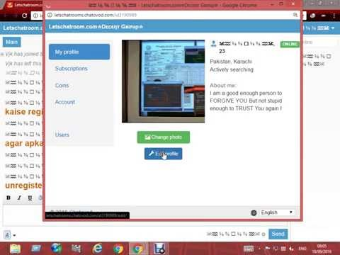 How to create unlimited nick on chatovod chat rooms Tutorial Urdu/Hindi