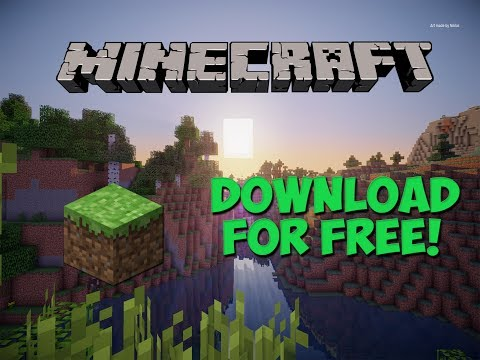 How To Download Minecraft For Free![With Multiplayer][VERSION 1.12](2017)