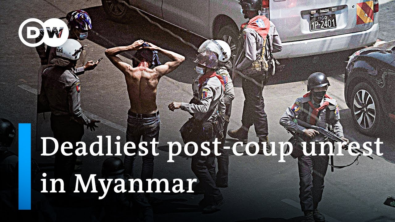 Protesters in Myanmar defiant after deadly crackdown | DW News